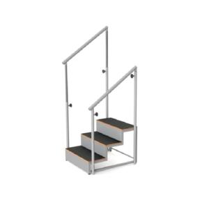 Escada 3 degraus Ref.ª 10.FI.5002