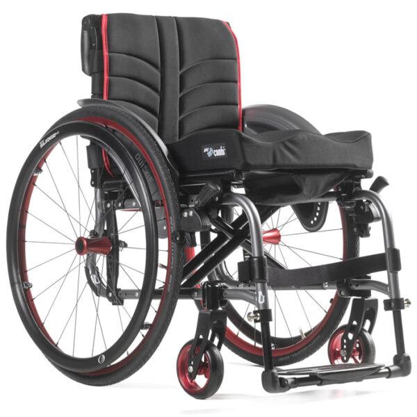 Cadeira de rodas dobrável Quickie Life